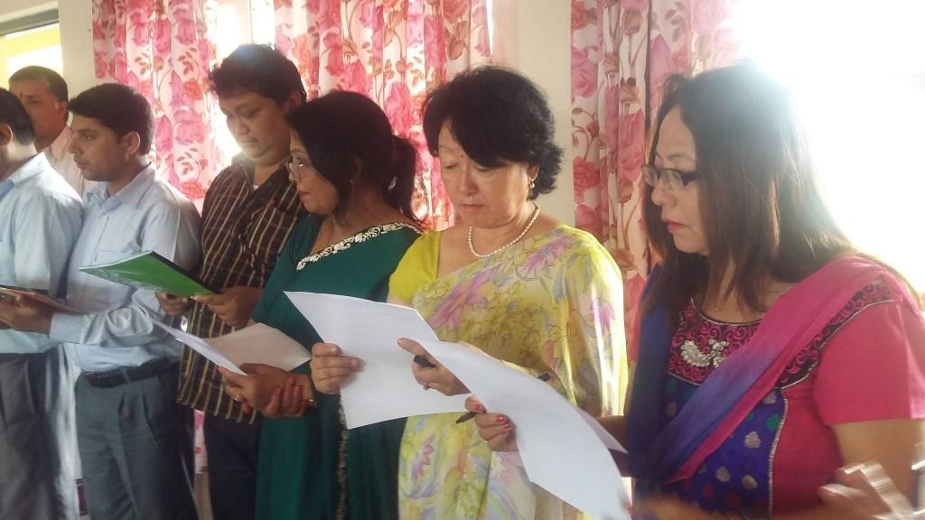 Oath-Taking Ceremony