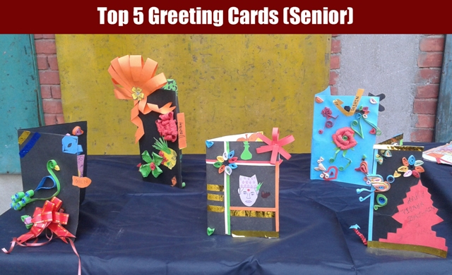 Festive fun dashain greeting cards competition at golden gate top 5 from senior category 6 8 m4hsunfo