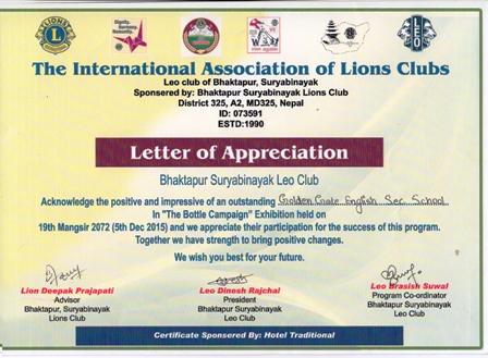 Leo Certificates