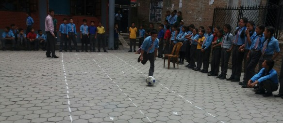 Inter-House Ball Relay Competition