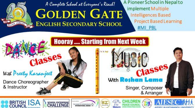 Dance & Music Classes to Resume