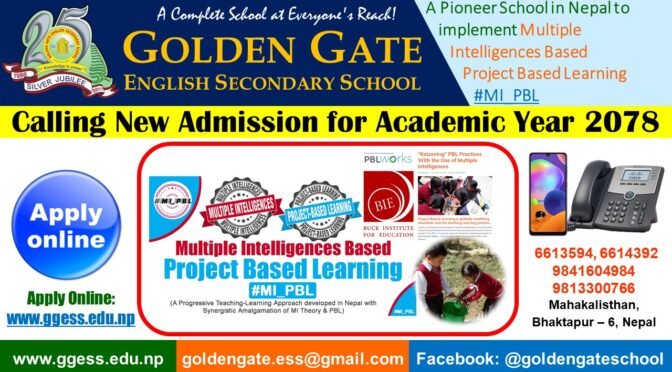 Final Exams & New Admission